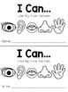 FREE Five Senses Easy Reader