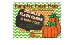 FREE Flash Cards - Doubles in Word Form
