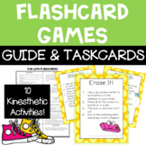 FREE Flashcard Game Cards and Guide