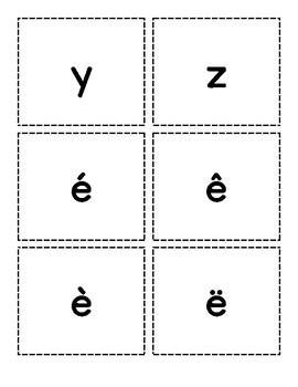 FREE - Flashcards - Les lettres & les chiffres (alphabet and numbers)