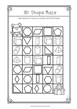 flat or solid shapes 2d or 3d shape sort geometry worksheets. Black Bedroom Furniture Sets. Home Design Ideas