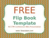 FREE Flip Book Template!