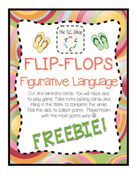FREE! Flip-Flop Figurative Language Sample