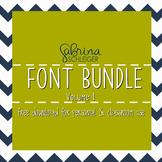 FREE Font Bundle Download- 25 Handwritten Fonts