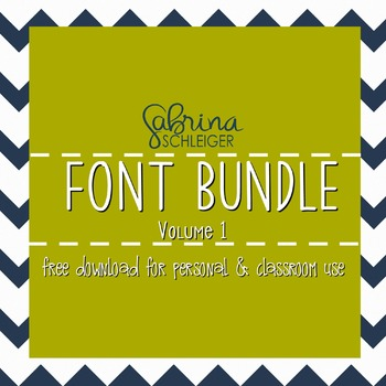 FREE Font Bundle Download- 25 Handwritten Fonts