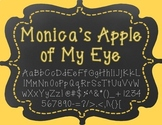Monica's Apple of My Eye {Font for Personal and Commercial Use}