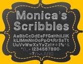 {FREE} Font - Monica's Scribbles