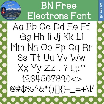 FREE Font Package