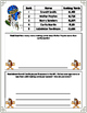 FREE Touchdown Math-Level I--Football Based Word Problems