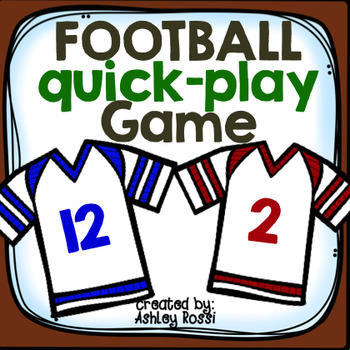 FREE! Open Ended Football Quick Play Game