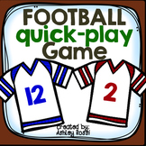 FREE! Open Ended Football Quick Play Game 2018