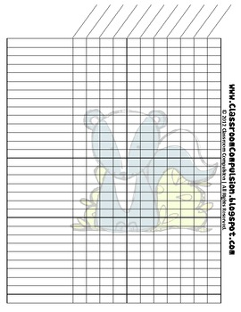FREE Forest Animals Charts