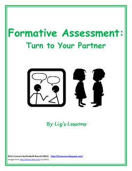 FREE Formative Assessment: Turn to your Partner!