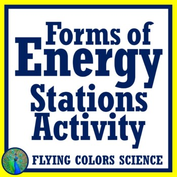FREE Forms of Energy Stations Task Cards Middle School