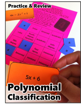 FREE Four-In-A-Row Game: Classifying Polynomials