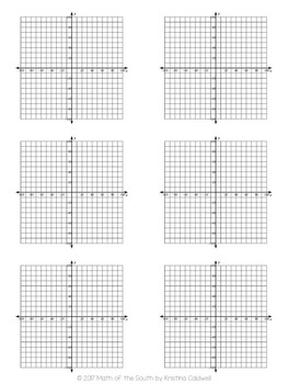 photograph about Coordinate Planes Printable referred to as Totally free - Graph Paper / Coordinate Airplane / Coordinate Grid Templates