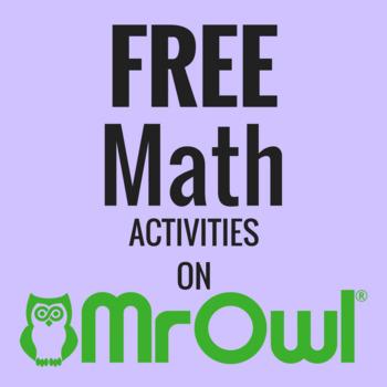 FREE Fourth Grade Math Activities on MrOwl