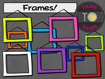 FREE Frames - frames for sellers {TeacherToTeacher Clipart}