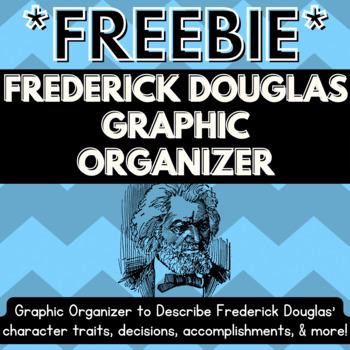 FREE Frederick Douglass Graphic Organizer - 3rd Grade Georgia Social Studies