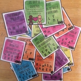 FREE French Character Traits Task Cards