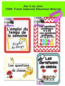 "FREE: French: ""Etiquettes"", Organisez vos paniers!"