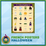 FREE • French Halloween Poster