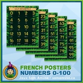 FREE • French Numbers 0 to 100 Posters • Jungle Theme
