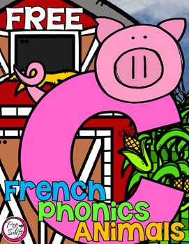 FREE French Phonics Animals