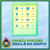 FREE • French Shapes Poster • Abstract Theme