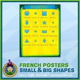 FREE • French Shapes Poster • Circus Theme