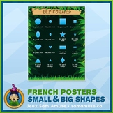 FREE • French Shapes Poster • Jungle Theme