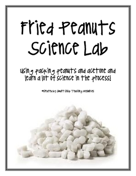 FREE Fried Peanuts Science Lab Activity