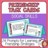 Friendship Cards Social Skills Prompts for Social Emotional Learning