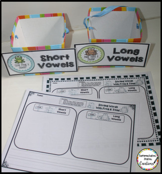 Long and Short Vowels FREE