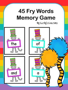FREE Fry Word Card Game