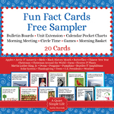Fun Fact Cards Sampler Pack - Free