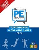 FREE: Fundamental Movement Skills Pack Sample - The PE Project