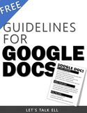 "FREE GOOGLE DOCS ""HOW-TO"" VISUAL/HANDOUT"