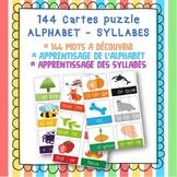 FREE - GRATUIT Cartes puzzle ABC