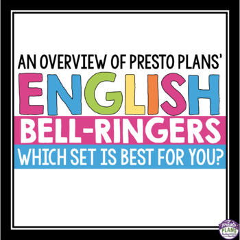 FREE GUIDE TO PRESTO PLANS' BELL-RINGER VOLUMES