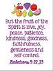 FREE Galatians 5:22,23 Bible Verse Printable Posters