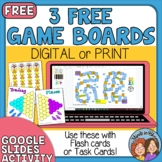 Game Boards   Digital or Print   Use with your task cards