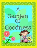 Garden of Goodness: Giving Compliments Spring Flower Writi