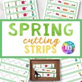 Gardening Cutting Strips for PreK and Kindergarten