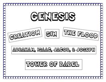 "Coloring sheet - ""Genesis"" - Print and Go!"