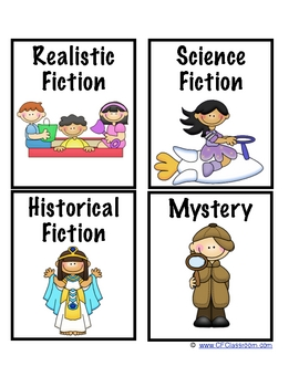 Free printable book labels for classroom library