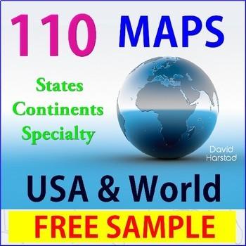 FREE - Geography | USA Map