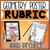 iPad Geometry Digital Project Rubric