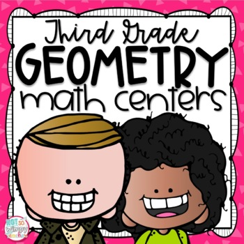 FREE Geometry Quadrilaterals Math Centers for Third Grade