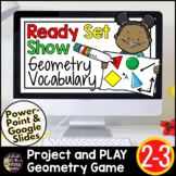 Geometry Review | Geometry Games | Geometry Vocabulary Review FREE